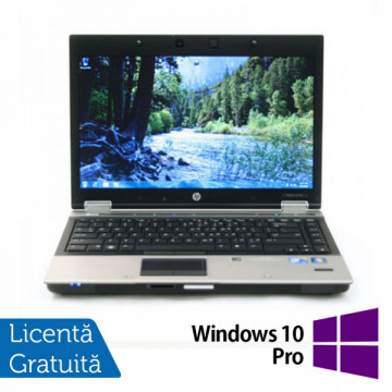 Laptop HP 8440p, Intel Core i7-620M 2.66GHz, 4GB DDR3, 320GB SATA, DVD-RW + Windows 10 Pro Laptopuri Refurbished