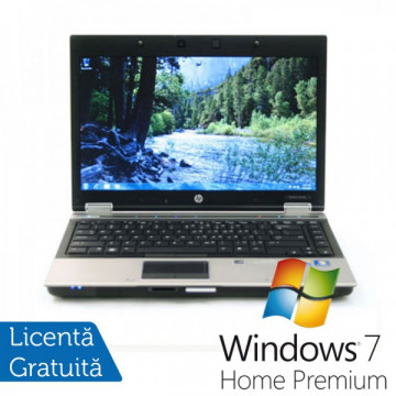 Laptop HP 8440p, Intel Core i7-620M 2.66GHz, 4GB DDR3, 320GB SATA, DVD-RW + Windows 7 Home Premium Laptopuri Refurbished