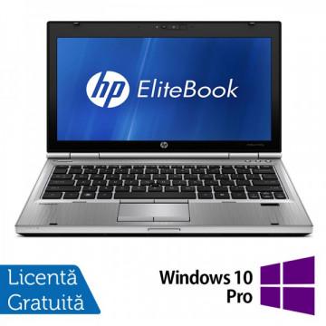 Laptop HP EliteBook 2560P, Intel Core i5-2410M 2.30GHz, 4GB DDR3, 320GB SATA, DVD-RW + Windows 10 Pro Laptopuri Refurbished