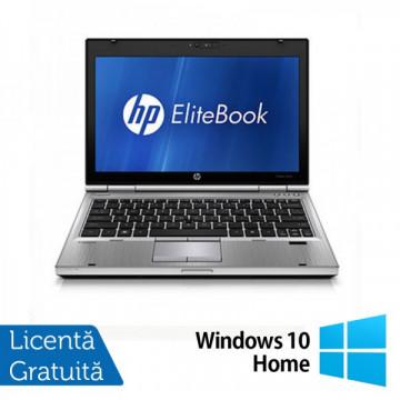 Laptop Hp EliteBook 2560p, Intel Core i5-2450M 2.5GHz, 4Gb DDR3, 320Gb SATA, DVD-RW, 12,5 inch LED-backlit HD, DisplayPort + Windows 10 Home