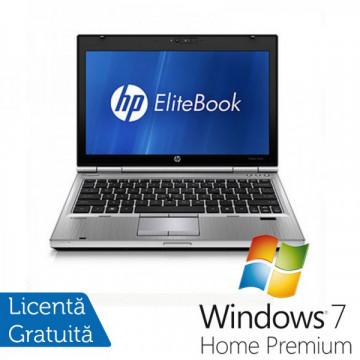 Laptop Hp EliteBook 2560p, Intel Core i5-2450M 2.5GHz, 4Gb DDR3, 320Gb SATA, DVD-RW, 12,5 inch LED-backlit HD, DisplayPort + Windows 7 Home Premium Laptopuri Refurbished