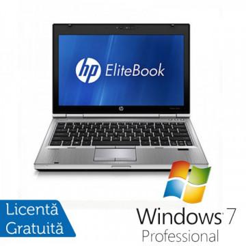 Laptop Hp EliteBook 2560p, Intel Core i5-2450M 2.5GHz, 4Gb DDR3, 320Gb SATA, DVD-RW, 12,5 inch LED-backlit HD, DisplayPort + Windows 7 Professional Laptopuri Refurbished