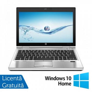 Laptop Hp EliteBook 2570p, Intel Core i5-3320M 2.6Ghz, 4Gb DDR3, 320GB SATA, DVD-RW, Display 12.5 inch LED-backlit HD, DisplayPort + Windows 10 Home Laptopuri Refurbished