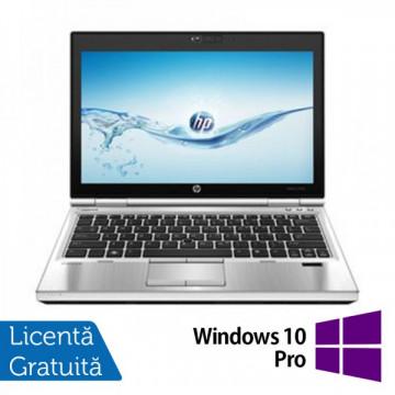 Laptop Hp EliteBook 2570p, Intel Core i5-3320M 2.6Ghz, 4Gb DDR3, 320GB SATA, DVD-RW, Display 12.5 inch LED-backlit HD, DisplayPort + Windows 10 Pro Laptopuri Refurbished
