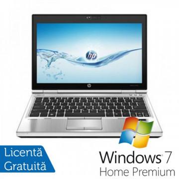 Laptop Hp EliteBook 2570p, Intel Core i5-3320M 2.6Ghz, 4Gb DDR3, 320GB SATA, DVD-RW, Display 12.5 inch LED-backlit HD, DisplayPort + Windows 7 Home Premium Laptopuri Refurbished