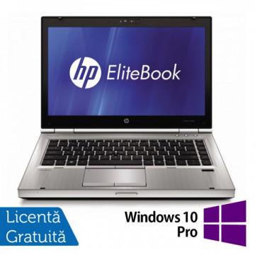 Laptop HP EliteBook 8460p, Intel Core i5-2540M 2.6 GHz, 4GB DDR3, 320GB SATA, DVD-RW + Windows 10 Pro Laptopuri Refurbished