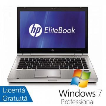Laptop HP EliteBook 8460p, Intel Core i7-2640M 2.8 GHz, 4GB DDR3, 500GB SATA, DVD-RW + Windows 7 Professional Laptopuri Refurbished