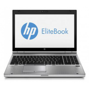 Laptop HP EliteBook 8570p, Intel Core i5-3320M 2.60GHz, 8GB DDR3, 320GB SATA, DVD-RW, Second Hand Laptopuri Second Hand