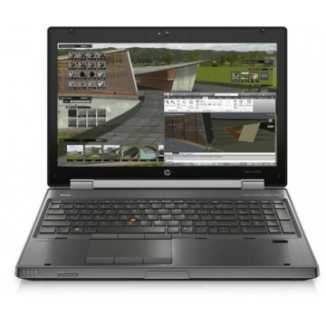 Laptop HP EliteBook 8570w, Intel Core i7-3610QM 2.30GHz, 8GB DDR3, 240GB SSD, DVD-RW, 15.6 Inch, Webcam, Second Hand Laptopuri Second Hand