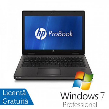 Laptop HP ProBook 6360B, Intel Core i3-2310M 2.10GHz, 4GB DDR3, 320GB SATA, DVD-RW + Windows 7 Professional Laptopuri Refurbished
