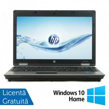 Laptop HP ProBook 6450b, Intel Core I5-480M 2.66 GHz, 4GB DDR3, 250GB SATA, DVD-RW + Windows 10 Home