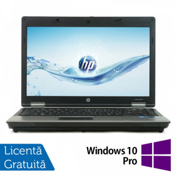 Laptop HP ProBook 6450b, Intel Core I5-480M 2.66 GHz, 4GB DDR3, 250GB SATA, DVD-RW + Windows 10 Pro Laptopuri Refurbished