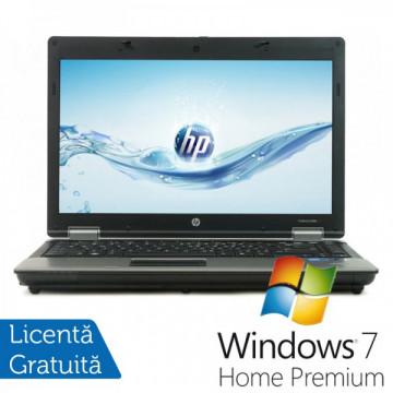 Laptop HP ProBook 6450b, Intel Core I5-480M 2.66 GHz, 4GB DDR3, 250GB SATA, DVD-RW + Windows 7 Home Premium Laptopuri Refurbished