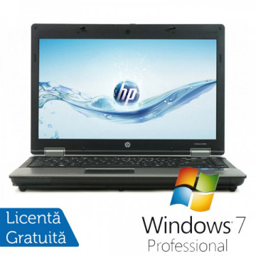 Laptop HP ProBook 6450b, Intel Core I5-480M 2.66 GHz, 4GB DDR3, 250GB SATA, DVD-RW + Windows 7 Professional
