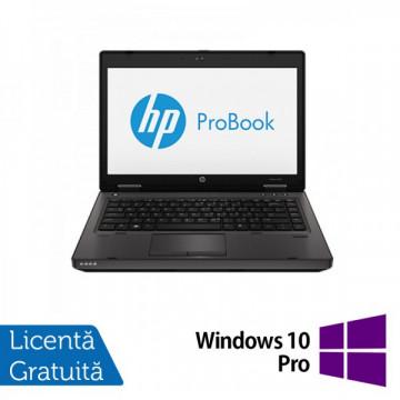 Laptop HP ProBook 6470b, Intel Core i5-3210M 2.5GHz, 4GB DDR3, 320GB SATA, DVD-RW + Windows 10 Pro Laptopuri Refurbished