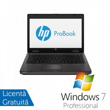 Laptop HP ProBook 6470b, Intel Core i5-3210M 2.5GHz, 4GB DDR3, 320GB SATA, DVD-RW + Windows 7 Professional Laptopuri Refurbished