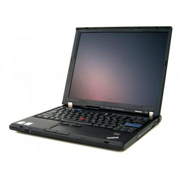 Laptop IBM Lenovo T61, Core 2 Duo T7100, 1.8Ghz, 2Gb, 80Gb, DVD-RW, 14.1 inci LCD Laptopuri Second Hand