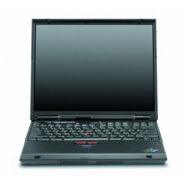 Laptop IBM ThinkPad T21, Pentium 3, 750 mhz, 256mb, 10gb Laptopuri Second Hand