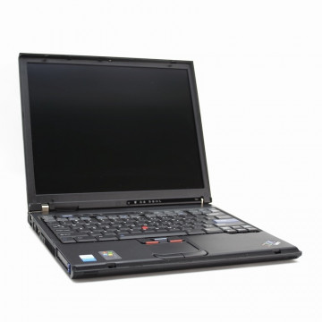Laptop IBM ThinkPad T41, Pentium M 1.6ghz, 1536mb, 40gb, DVD-ROM Laptopuri Second Hand