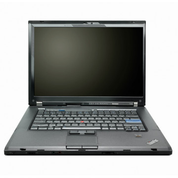 Laptop LENOVO T500, Intel Core 2 Duo P8600 2.40GHz, 4GB DDR3, 500GB SATA, DVD-RW, 15.4 Inch, Second Hand Laptopuri Second Hand