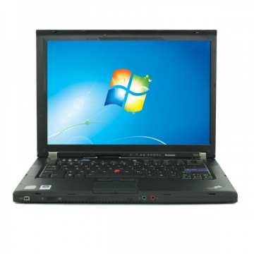 Laptop LENOVO ThinkPad T400, Intel Core 2 Duo P8600 2.40GHz, 4GB DDR2, 320GB SATA, DVD-ROM, Fara Webcam, 14 Inch, Grad B (0039), Second Hand Laptopuri Ieftine