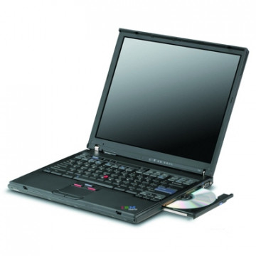 Laptop LENOVO ThinkPad T43, Intel Pentium M 1.86GHz, 2GB DDR2, 40GB SATA, DVD-RW, Grad B Laptopuri Ieftine