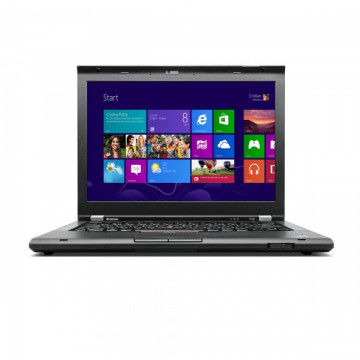 Laptop LENOVO ThinkPad T430s, Intel Core i7-3520M 2.9GHz, 4GB DDR3, 120GB SSD, DVD-RW, 14 Inch, Second Hand Laptopuri Second Hand