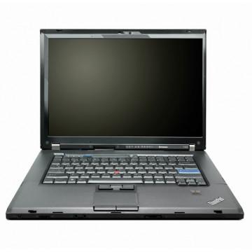 Laptop Lenovo Thinkpad T500, Intel Core 2 Duo P8400 2.26GHz, 4GB DDR3, 160GB SATA, DVD-RW, 15.4 Inch, Second Hand Laptopuri Second Hand