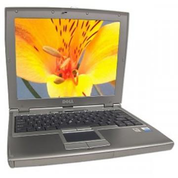 Laptop mini Dell Latitude D400, Pentium Mobile 725 1.6 Ghz, 512Mb, 30Gb Laptopuri Second Hand