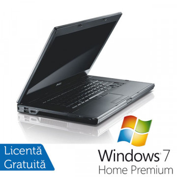 Laptop Refurbished Dell E6510, Intel Core i5-460M, 2.53Ghz, 4Gb DDR3, 250Gb HDD, DVD-RW, 15 inci LED + Win 7 Premium Laptopuri Refurbished