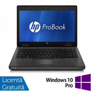 Laptop Refurbished HP ProBook 6460b, Intel Celeron Dual Core B810 1.6Ghz, 4Gb DDR3, 160Gb HDD, DVD-RW, Wi-Fi, 14 Inch + Windows 10 Pro Laptopuri Refurbished
