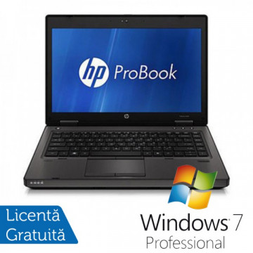 Laptop Refurbished HP ProBook 6460b, Intel Celeron Dual Core B840 1.9Ghz, 4Gb DDR3, 250Gb HDD, DVD-RW, Wi-Fi, 14 Inch + Windows 7 Professional Laptopuri Refurbished