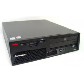 Lenovo M55 SFF, Intel Dual Core E6300 1.86Ghz, 2Gb DDR2, 80Gb SATA, DVD-RW Calculatoare Second Hand