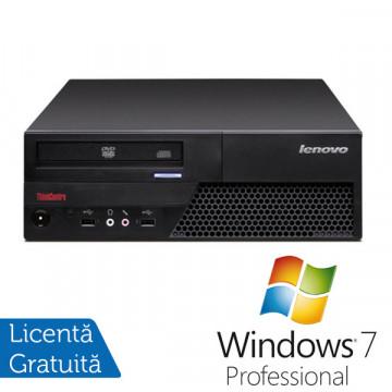 Lenovo M58p, Core 2 Duo E8400,  3.0Ghz, 2Gb DDR3, 160Gb, DVD-RW + Win 7 Pro Calculatoare Second Hand