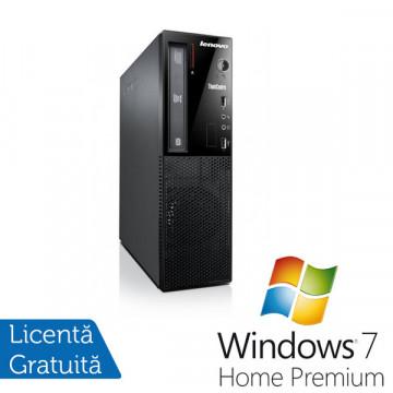 Lenovo M70e SFF, Pentium Dual Core E5700, 3.0GHz, 2Gb DDR3, 320Gb HDD, DVD-RW + Win 7 Premium Calculatoare Refurbished