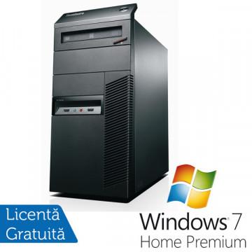 Lenovo M81, Intel Pentium Dual Core G630, 2.7Ghz, 4Gb DDR3, 250Gb SATA II, DVD-ROM + Windows 7 Premium Calculatoare Refurbished