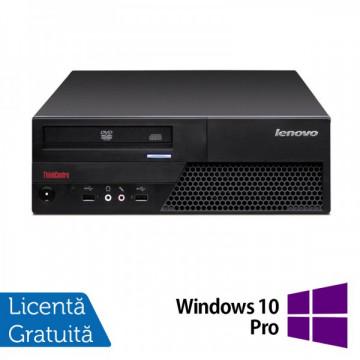 Lenovo ThinkCentre M58p Desktop, Intel Core 2 Duo E8400, 3.0Ghz, 4Gb DDR3, 250Gb HDD, DVD-RW + Windows 10 Pro Calculatoare Refurbished