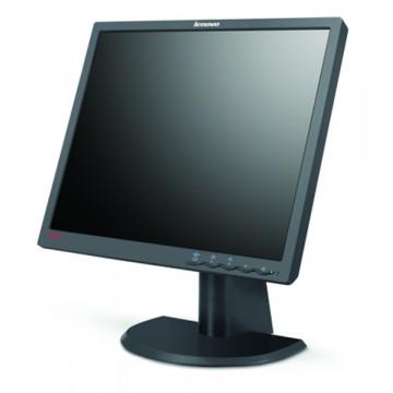 Lenovo ThinkVision L192P, LCD, 19 inch, 1280 x 1024, 20ms, VGA, DVI, Grad A-, Fara Picior Monitoare cu Pret Redus