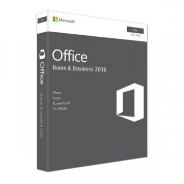 Licenta retail Microsoft Office Mac Home and Business 2016 English Medialess