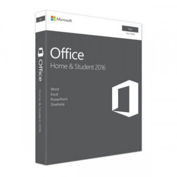 Licenta retail Microsoft Office Mac Home Student 2016 English, Medialess