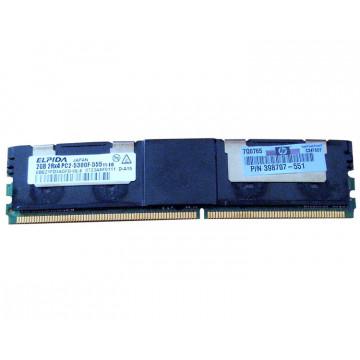 Memorie Server 2GB Elpida ebe21fd4agfd-6e-e, DDR2 FBD, 667Mhz, PC2-5300F
