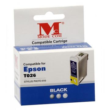 Modecom Cartus cerneala, Compatibil pentru Epson T026, Negru