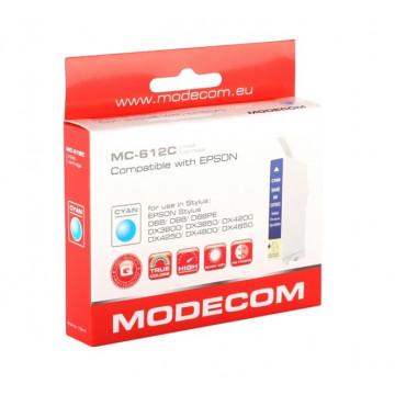 Modecom Cartus cerneala, Compatibil pentru Epson T612C, Cyan