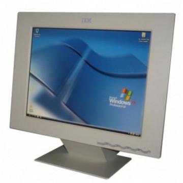 Monitoare ieftine, IBM 9512-AWO, 15 inci, LCD Monitoare Second Hand