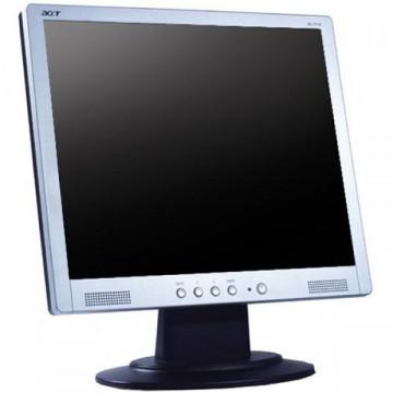 Monitor ACER AL1714, LCD, 17 inch, 1280 x 1024, VGA, Grad B Monitoare cu Pret Redus