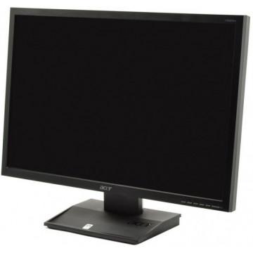 Monitor ACER V223W, LCD, 22 inch, 1680 x 1050, VGA, DVI, Widescreen Monitoare Second Hand