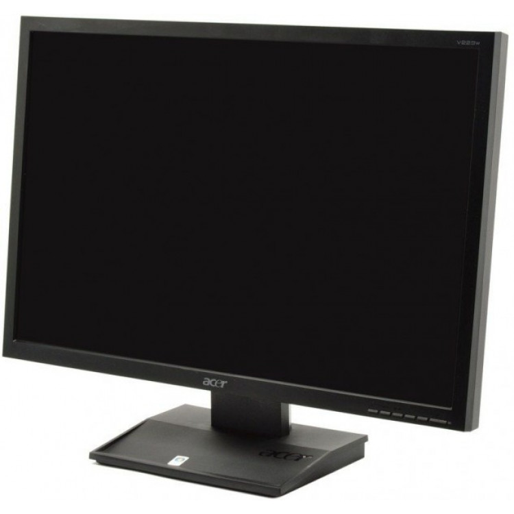 monitor acer v223w lcd 22 inch 1680 x 1050 vga dvi widescreen. Black Bedroom Furniture Sets. Home Design Ideas