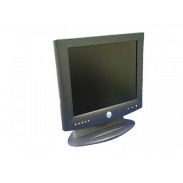 Monitor Dell 1701FP, 17 inci LCD, 1280 x 1024, Pete, Zgarieturi Monitoare Second Hand