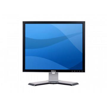 Monitor Dell 1907FP, 19 inch LCD, 1280 x 1024, VGA, DVI, Fara picior, Grad A-, Second Hand Monitoare cu Pret Redus