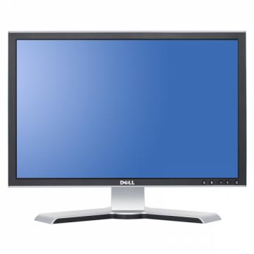 Monitor DELL E228W, LCD 22 inch, 1680 x 1050, VGA, DVI, WIDESCREEN, Full HD, Grad A- Monitoare cu Pret Redus